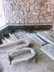 Roman ruins in Terrasson-Lavilledieu.