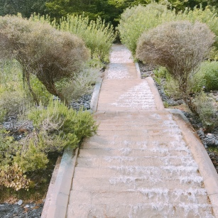 """warer cascading everywhere : """"Les Jardins de l'Imaginaire""""."""