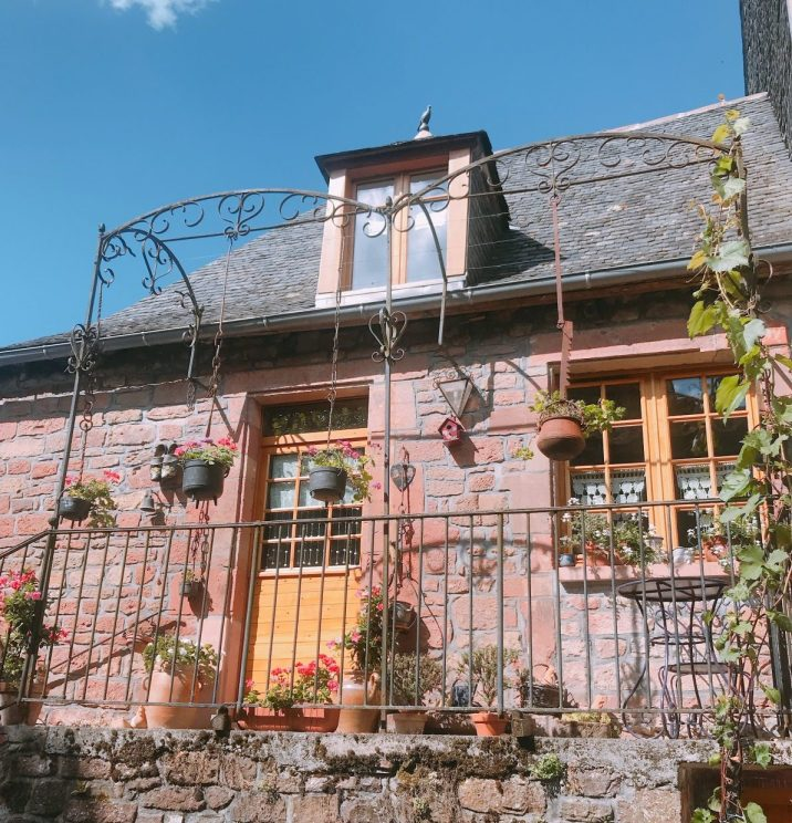 Collonges-la-Rouges, France