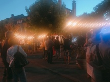 Night market in Meyssac, France