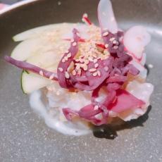 Tuna sashimi in Guéthary, France