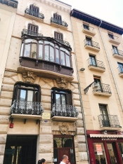 Architecture in Pamplona, Spain