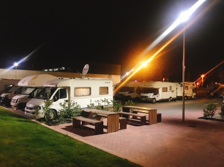 Camper stop in Just an idea of the places and pintxos/tapas you can eat in Pamplona Spain