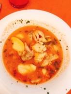 Seafood stew in Puente la Reina, Navarra
