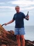 Sabrage by the host Jason!, Gorey Bay