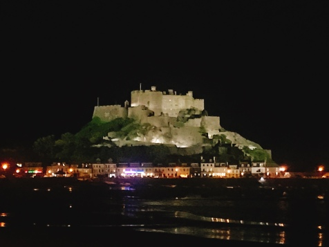 Gorey castle in all her glory, Jersey