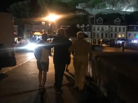Long walk home after dinner, Jersey