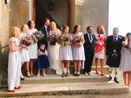 The wedding party...